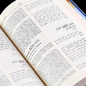 GNA053 FC05 الكتاب المقدس باللغتين العربية والفرنسية