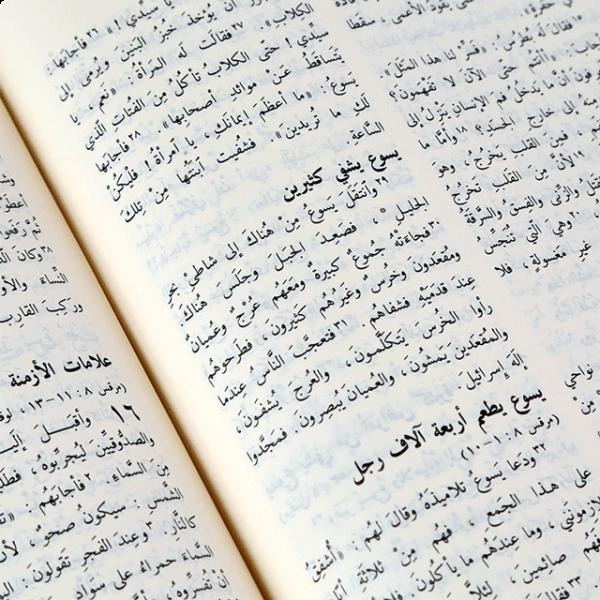 GNA083 الكتاب المقدس باللغة العربية - مشتركة