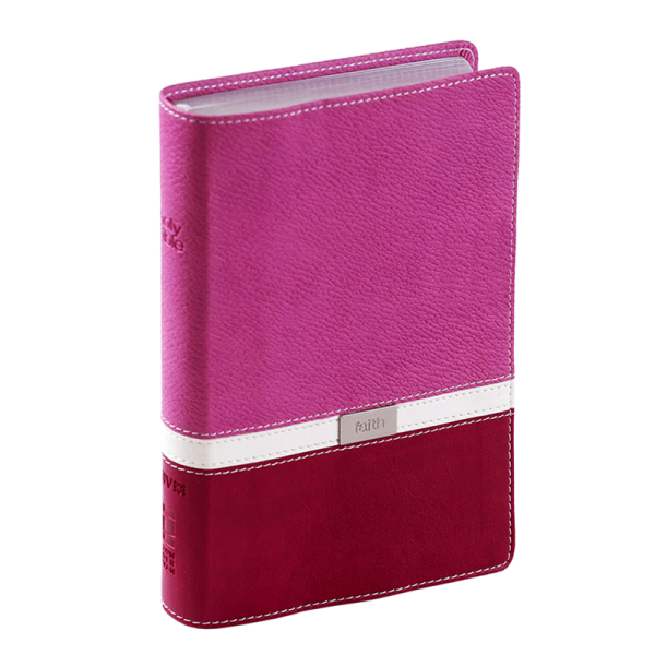 الكتاب المقدس باللغة الانجليزية المضغوط خط رفيع NIV - لون ارجواني