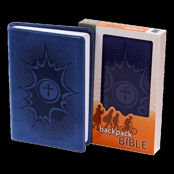 الكتاب المقدس باللغة الانجليزية لحقيبة الظهر NIrV - لون كحلي