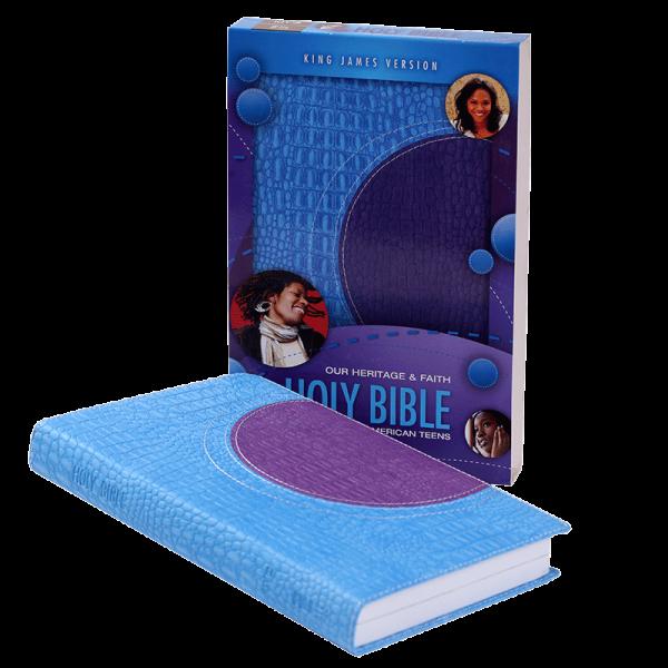 الكتاب المقدس باللغة الانجليزية للمراهقين الافارقة الامريكان KJV