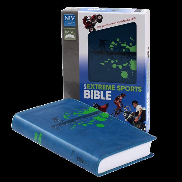 الكتاب المقدس الرياضي للاطفال NIV - لون ازرق