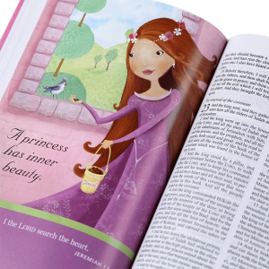 الكتاب المقدس باللغة الانجليزية للاميرة الرائعة KJV - غلاف صلب