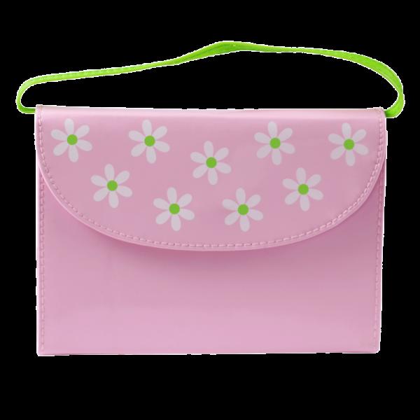 العهد الجديد باللغة الانجليزية NIrV حقيبتي الصغيرة - لون وردي