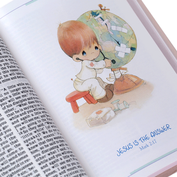 العهد الجديد باللغة الانجليزية للاطفال - اللحظات الثمينة NAV - غلاف لين