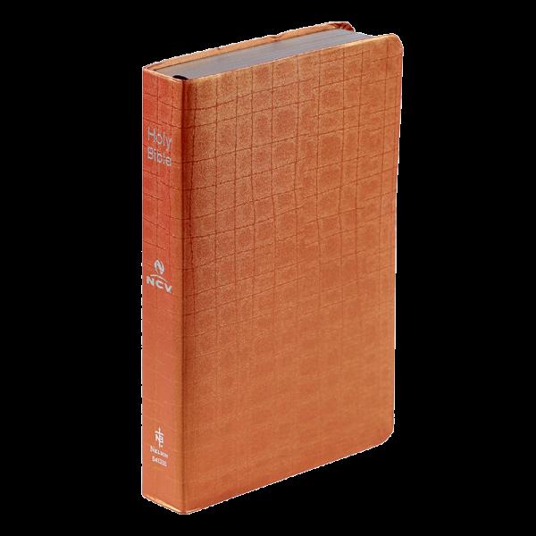 الكتاب المقدس باللغة الانجليزية NCV - لون برتقالي