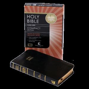 العهد الجديد المضغوط باللغة الانجليزية KJV - لون اسود