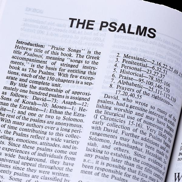 الكتاب المقدس التوضيحي باللغة الانجليزية