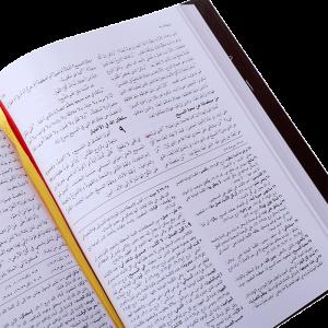 العهد الجديد بالخلفيات التوضيحية - غلاف صلب