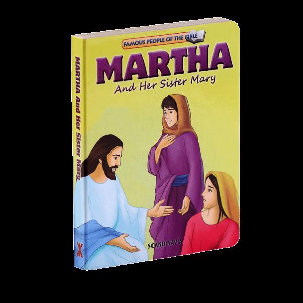 سلسلة شخصيات مشهورة في الكتاب المقدس للأطفال (مارثا وأختها ماري)