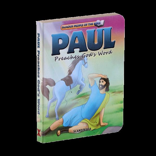 سلسلة شخصيات مشهورة في الكتاب المقدس للأطفال (بولص)
