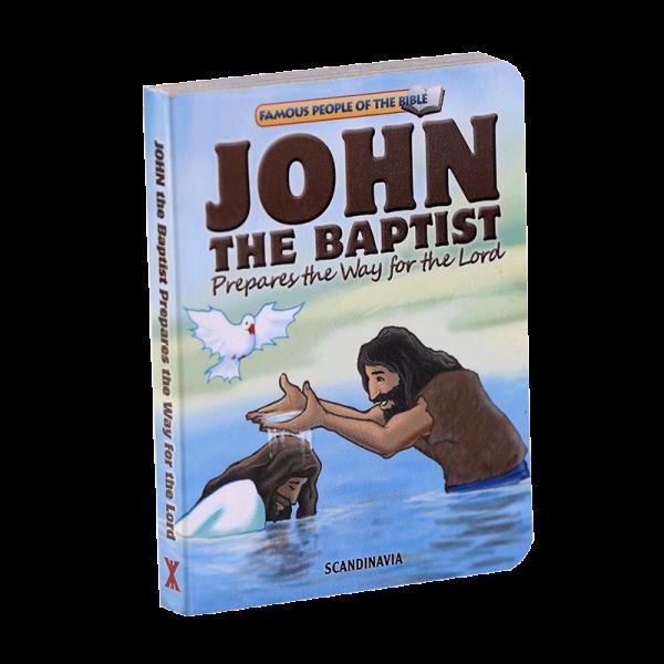 سلسلة شخصيات مشهورة في الكتاب المقدس للأطفال (يوحنا المعمدان)