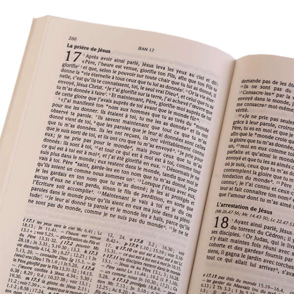 العهد الجديد باللغة الفرنسية TOB250