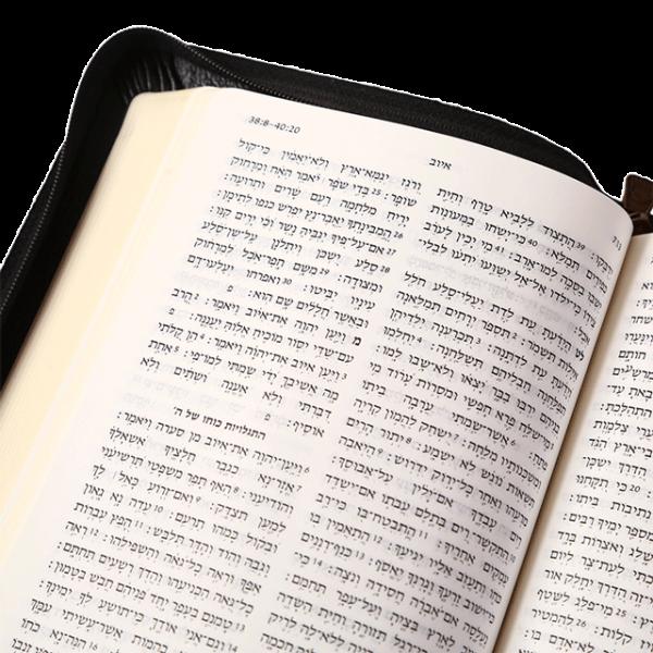الكتاب المقدس باللغة العبرية STM67Z