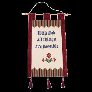 كل شيء مستطاع عند الله
